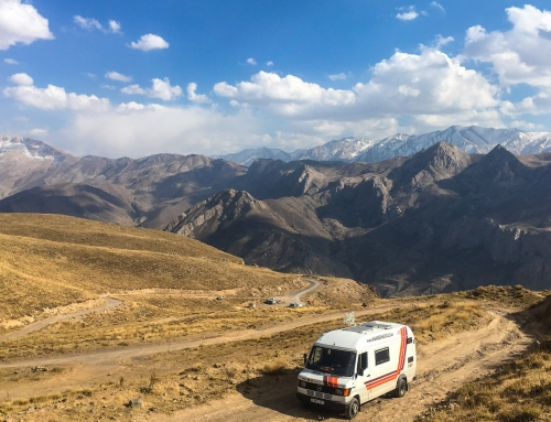 Alborz mountains, Iran.
