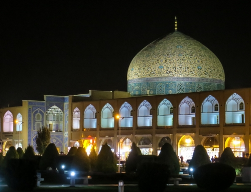 Isfahan, handicrafts and visa's…